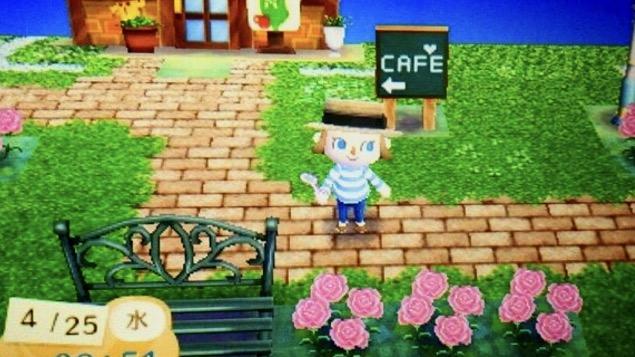 とびだせどうぶつの森 カフェ